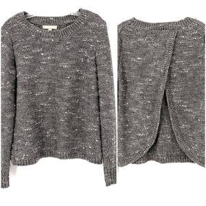 Banana Republic Metalic Wool Blend Sweater